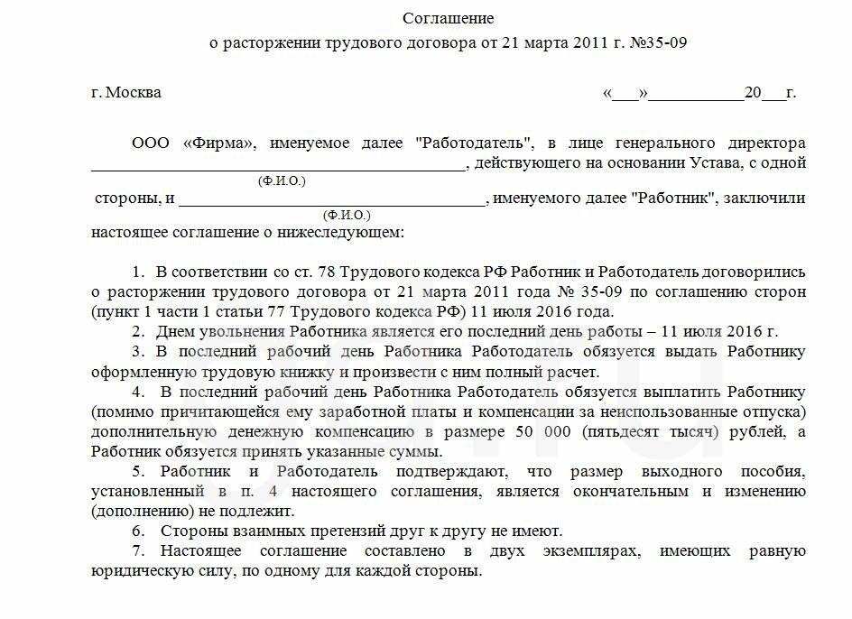 Соглашение о расторжении договора бухгалтерском обслуживании заполнение декларации 3 ндфл предпринимателем