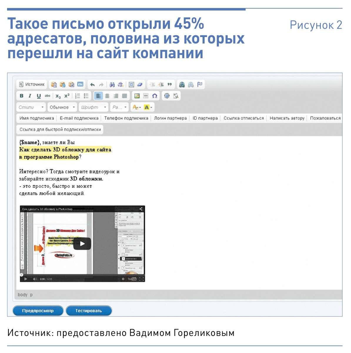 Как сделать электронный шаблон письма