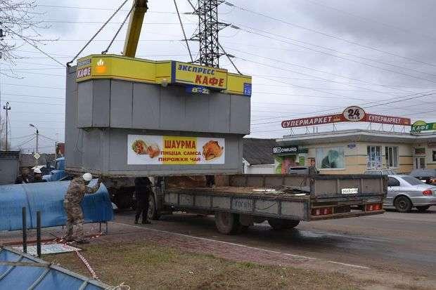 В Москве приступили к ликвидации мини-магазинов